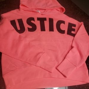 New Justice cropped sweatshirt Size 8